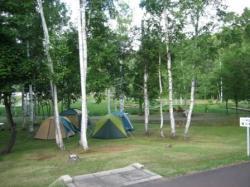 和寒町 南丘森林公園 キャンプ場です♪