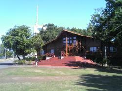 大山山頂園レストハウスでランチ♪