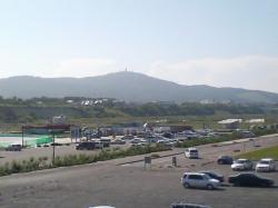 大山が見えます(*^_^*)