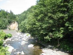 大函を流れる川も気持ち良く(*^_^*)