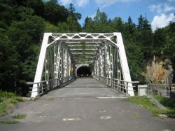 違う意味でも涼しい(?)旧大函トンネル
