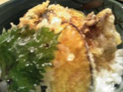 野菜天丼 500円