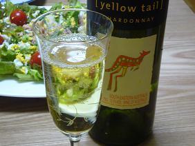 チープな白ワイン