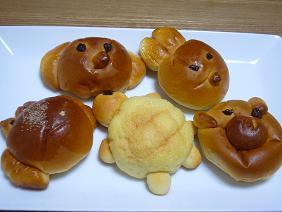 わっぱんのミニ動物パン
