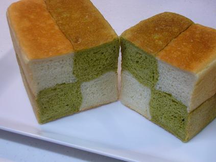 市松模様の食パン