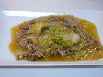 豚肉と白菜のトロトロ中華煮