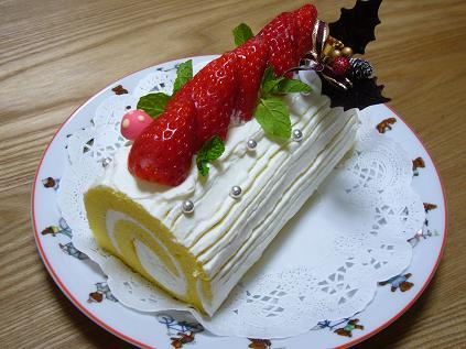 モンテールのロールケーキ