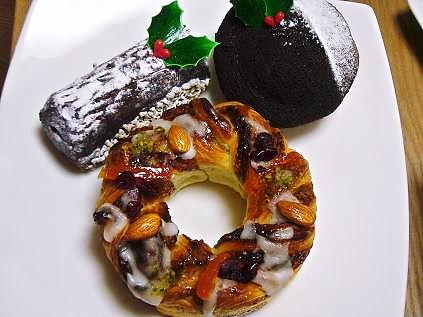 ドンクのクリスマスパン達