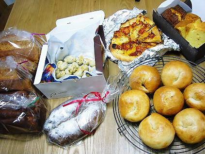 お土産のパン達