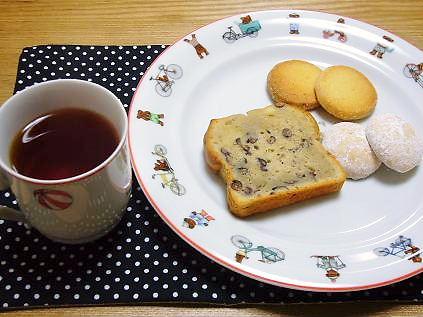 小豆のケーキ&クッキー