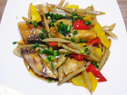 ブリの野菜南蛮炒め