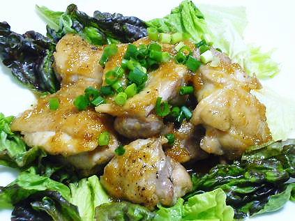 鶏もも肉のガッツり焼き