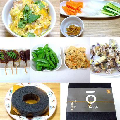 母の日の夕食