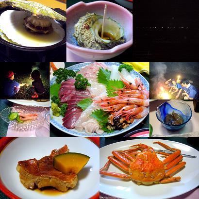 与利喜の夕食