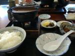 アンコウ鍋定食
