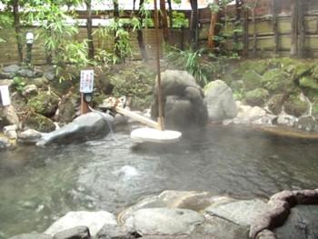 ひばり荘貸切露天風呂