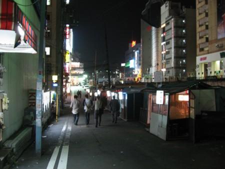横浜西口屋台夜