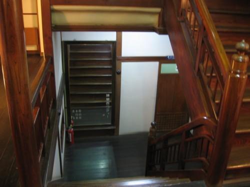 環翠楼 階段