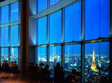 東京シティビュー夜景1