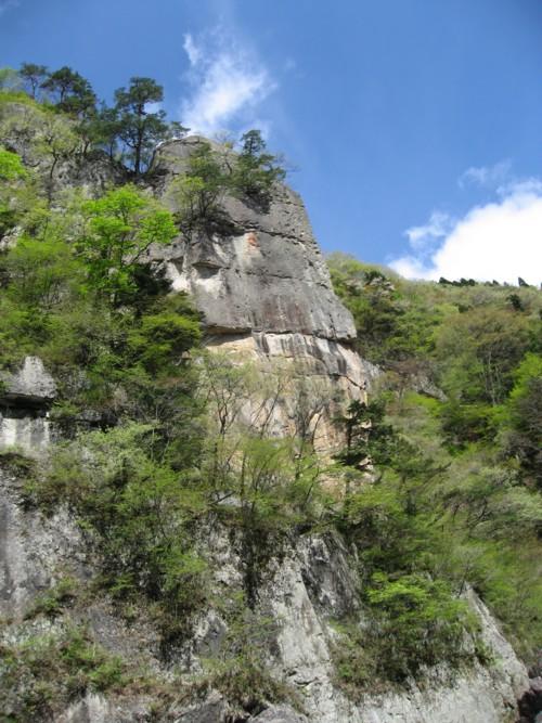 ライン下り 盾岩