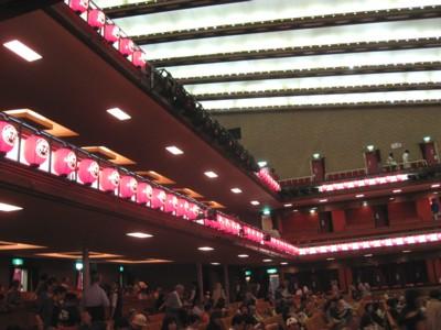 2009年8月歌舞伎座3