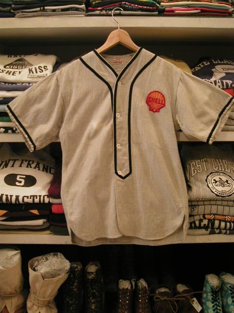 ベースボールシャツ 001