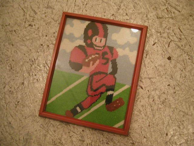 フットボールの絵 002