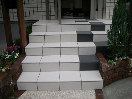玄関ステップ4