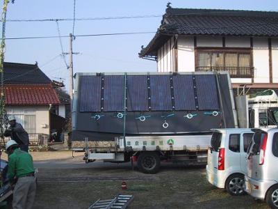 太陽光 トラック