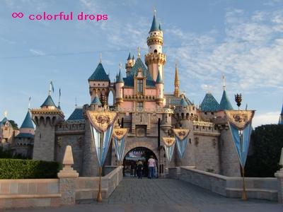 眠れる森の美女のお城