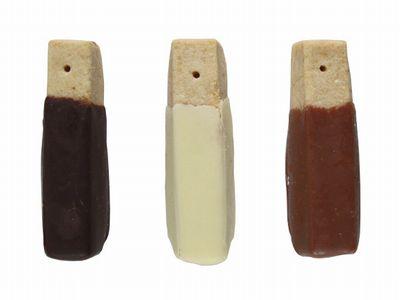 Maison romi-unie--ショートブレッド ビター/ホワイト/ミルク。