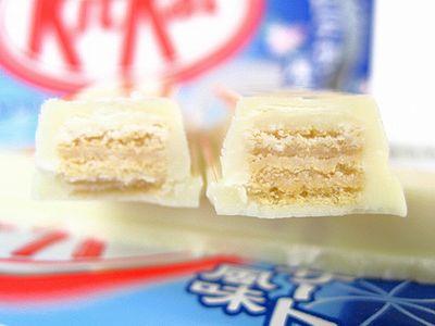 キットカット--杏仁デザート風味。