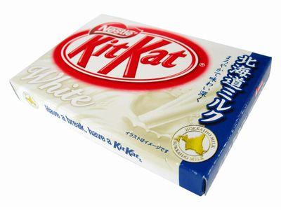 キットカット--北海道ミルク。