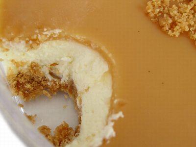 花畑牧場--生キャラメル チーズケーキ。