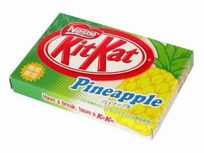 キットカット--パイナップル。