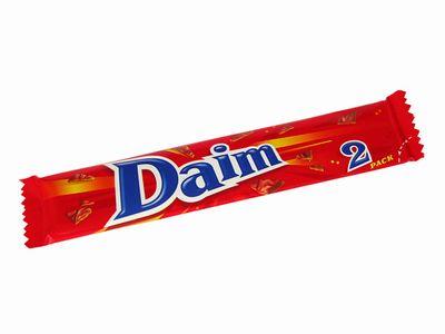 スウェーデンのチョコ--Daim。