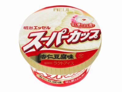 明治エッセル--スーパーカップ 杏仁豆腐味。