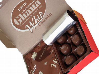 ロッテ--Ghana Whip Chocolat。