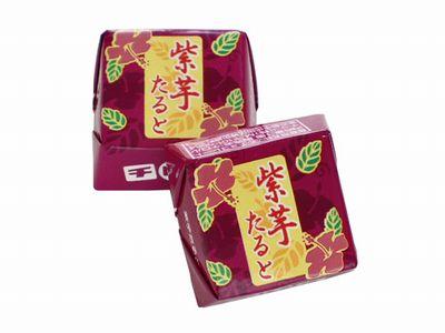 チロルチョコ--芋栗なんきん(紫いもたると)。