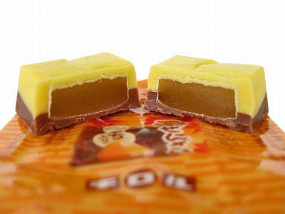 チロルチョコ--芋栗なんきん(栗ぜんざい)。