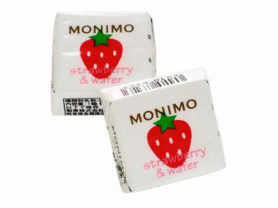 日幸製菓--MONIMO strawberry&wafer イチゴ味。