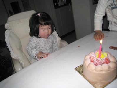 アリス 1歳誕生日