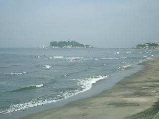江ノ島 七里ヶ浜より