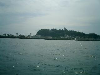 SUP 江ノ島 東浜より