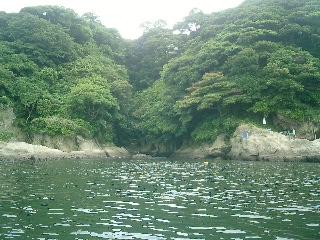 SUP 江ノ島 西浜 沖4