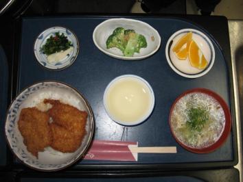 1024 日替わり丼定食(ソースかつ丼)