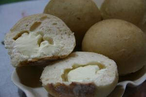森のクリームチーズパン♪