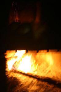 石窯パンを焼く♪