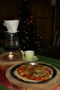 クリスマスピザ♪