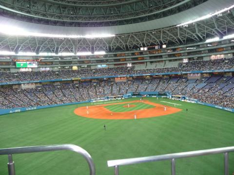 京セラドーム三階席